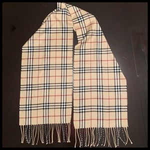 "Plaid Scarf with roped fringe 66"" length"